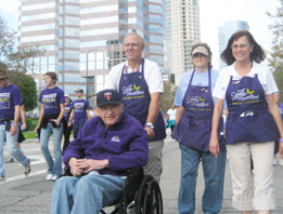 Our staff recently took time-out to walk for Alzheimer's.